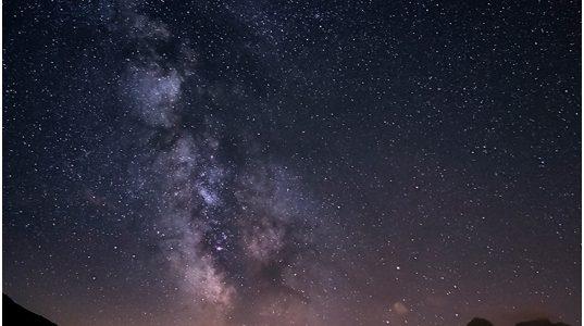Milchstraße über Glarus